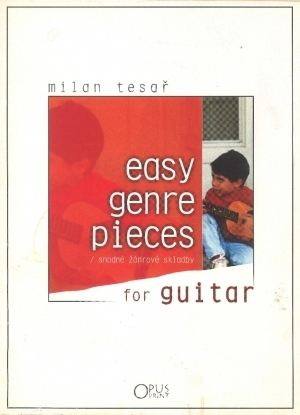 Easy genre pieces for guitar