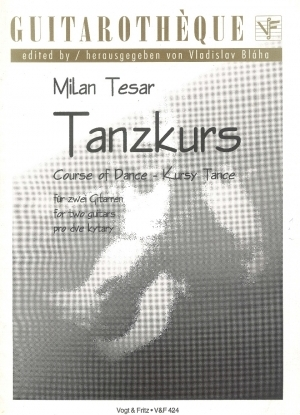 Tanzkurs - Course of Dance for 2 Guitars