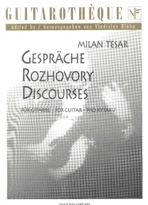 Gespräche – Discourses for Guitar